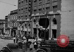 Image of gasoline blast Montreal Quebec Canada, 1937, second 10 stock footage video 65675070578
