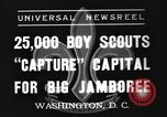 Image of boy scouts Washington DC USA, 1937, second 1 stock footage video 65675070581