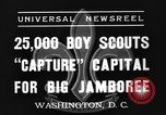 Image of boy scouts Washington DC USA, 1937, second 3 stock footage video 65675070581