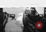 Image of various submarines from World War I to 1925 Atlantic Ocean, 1918, second 1 stock footage video 65675070587