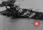 Image of Austro-Hungarian ship SMS Szent Istvan sinking Adriatic Sea, 1918, second 6 stock footage video 65675070597