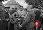 Image of examination of papers Wiesbaden Germany, 1946, second 9 stock footage video 65675070610