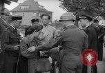 Image of examination of papers Wiesbaden Germany, 1946, second 10 stock footage video 65675070610