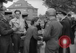 Image of examination of papers Wiesbaden Germany, 1946, second 12 stock footage video 65675070610