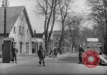 Image of British military guards Bad Oeynhausen Germany, 1946, second 2 stock footage video 65675070616