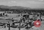 Image of paratroop invasion Mindoro Philippines, 1945, second 8 stock footage video 65675070643