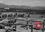 Image of paratroop invasion Mindoro Philippines, 1945, second 10 stock footage video 65675070643