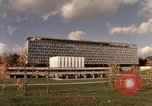 Image of modern building Geneva Switzerland, 1968, second 2 stock footage video 65675070665