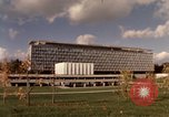 Image of modern building Geneva Switzerland, 1968, second 4 stock footage video 65675070665