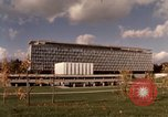 Image of modern building Geneva Switzerland, 1968, second 5 stock footage video 65675070665