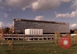 Image of modern building Geneva Switzerland, 1968, second 8 stock footage video 65675070665
