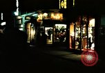 Image of night life Soho London England United Kingdom, 1968, second 2 stock footage video 65675070669