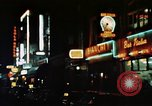 Image of night life in Soho London Soho London England United Kingdom, 1968, second 8 stock footage video 65675070671