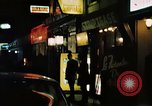 Image of night life Soho London England, 1968, second 7 stock footage video 65675070673