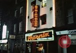 Image of night life Soho London England, 1968, second 1 stock footage video 65675070675