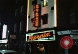 Image of night life Soho London England, 1968, second 2 stock footage video 65675070675