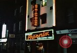 Image of night life Soho London England, 1968, second 3 stock footage video 65675070675