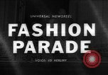 Image of fashion show London England United Kingdom, 1966, second 1 stock footage video 65675070681