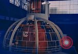 Image of Nuclear-powered cargo and passenger Ship, NS Savannah Camden New Jersey United States USA, 1958, second 5 stock footage video 65675070687