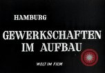 Image of trade unions Hamburg Germany, 1946, second 2 stock footage video 65675070695