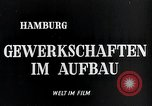 Image of trade unions Hamburg Germany, 1946, second 3 stock footage video 65675070695