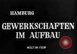 Image of trade unions Hamburg Germany, 1946, second 4 stock footage video 65675070695