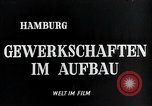 Image of trade unions Hamburg Germany, 1946, second 5 stock footage video 65675070695