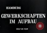 Image of trade unions Hamburg Germany, 1946, second 6 stock footage video 65675070695