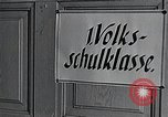 Image of elementary school Vienna Austria, 1946, second 8 stock footage video 65675070696