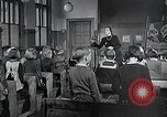 Image of elementary school Vienna Austria, 1946, second 12 stock footage video 65675070696