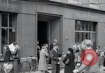 Image of first American newspaper Aachen Germany, 1945, second 6 stock footage video 65675070697