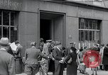 Image of first American newspaper Aachen Germany, 1945, second 12 stock footage video 65675070697