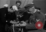 Image of German prisoners Atlantic Ocean, 1945, second 5 stock footage video 65675070715