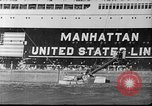 Image of SS Manhattan aground off Florida United States USA, 1941, second 10 stock footage video 65675070727