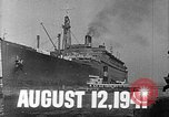 Image of SS Manhattan becomes USS Wakefield New York United States USA, 1941, second 2 stock footage video 65675070728