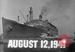Image of SS Manhattan becomes USS Wakefield New York United States USA, 1941, second 4 stock footage video 65675070728