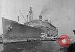 Image of SS Manhattan becomes USS Wakefield New York United States USA, 1941, second 5 stock footage video 65675070728