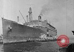 Image of SS Manhattan becomes USS Wakefield New York United States USA, 1941, second 6 stock footage video 65675070728