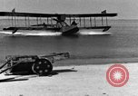 Image of Curtiss HS-2L seaplane France, 1918, second 4 stock footage video 65675070740