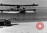 Image of Curtiss HS-2L seaplane France, 1918, second 5 stock footage video 65675070740