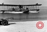 Image of Curtiss HS-2L seaplane France, 1918, second 6 stock footage video 65675070740