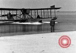 Image of Curtiss HS-2L seaplane France, 1918, second 9 stock footage video 65675070740