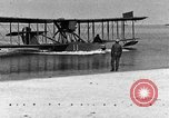 Image of Curtiss HS-2L seaplane France, 1918, second 10 stock footage video 65675070740