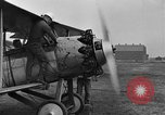 Image of Biplane with radial engine France, 1918, second 5 stock footage video 65675070741