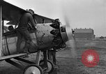 Image of Biplane with radial engine France, 1918, second 8 stock footage video 65675070741