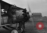 Image of Biplane with radial engine France, 1918, second 10 stock footage video 65675070741
