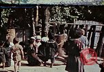 Image of rehabilitation of natives on Okinawa in World War 2 Okinawa Ryukyu Islands, 1945, second 1 stock footage video 65675070759