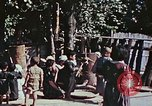 Image of rehabilitation of natives Okinawa Ryukyu Islands, 1945, second 3 stock footage video 65675070759