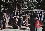 Image of rehabilitation of natives on Okinawa in World War 2 Okinawa Ryukyu Islands, 1945, second 6 stock footage video 65675070759