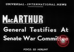 Image of General Douglas MacArthur Washington DC USA, 1951, second 6 stock footage video 65675070770